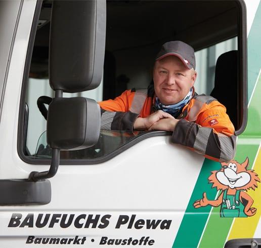 Service Lieferdienst BAUFUCHS Plewa - Baumarkt Vreden